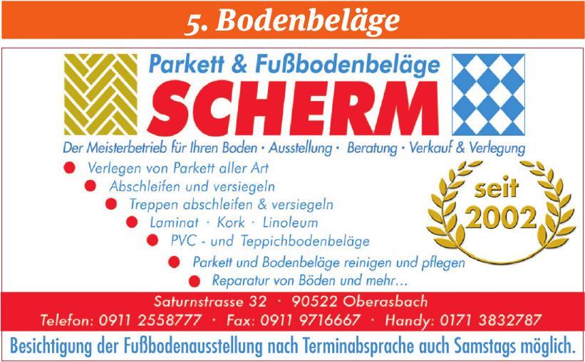 Parkett & Fußbodenbeläge Scherm