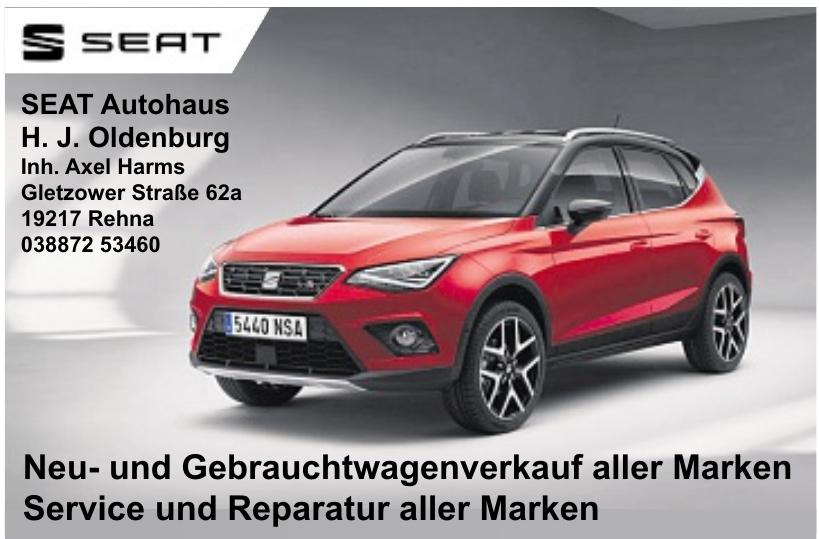 SEAT Autohaus H. J. Oldenburg