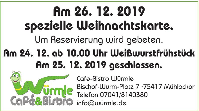 Cafe-Bistro Würmle