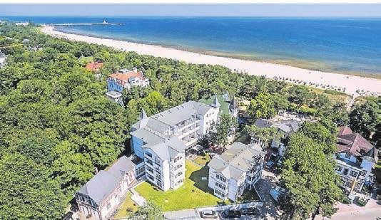 Das Aurelia Hotel liegt in unmittelbarer Nähe zum Strand. Foto: Marcel Piper