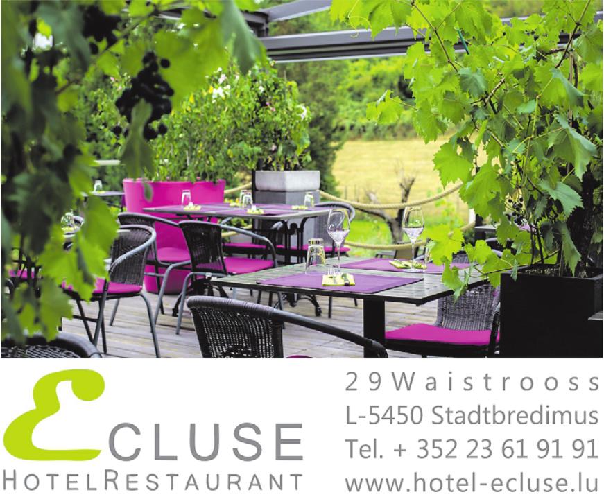 Ecluse Hotel Restaurant
