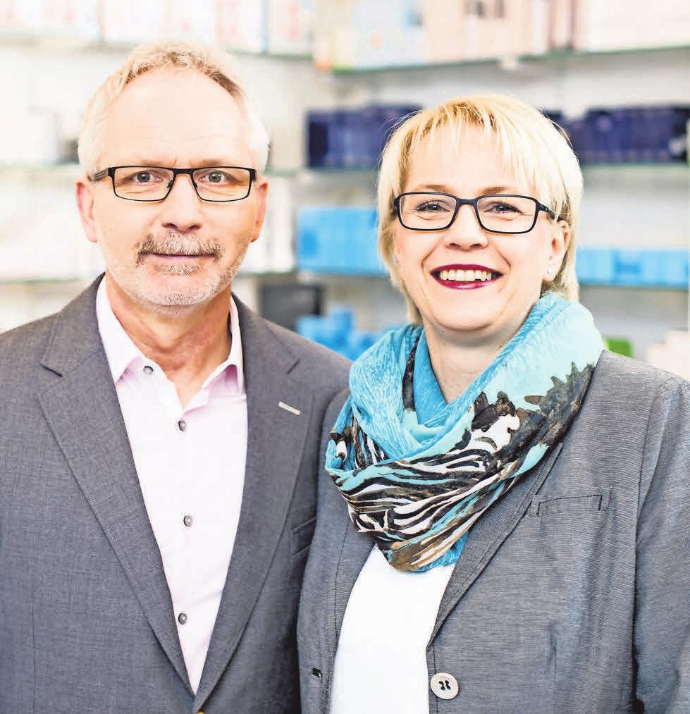 Thomas und Phädra Knop führen das Familienunternehmen in zweiter Generation.