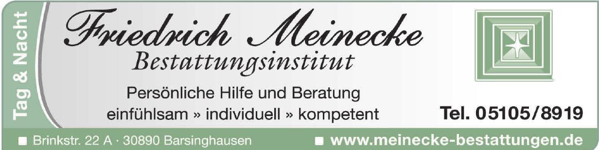 Bestattungsinstitut Friedrich Meinecke