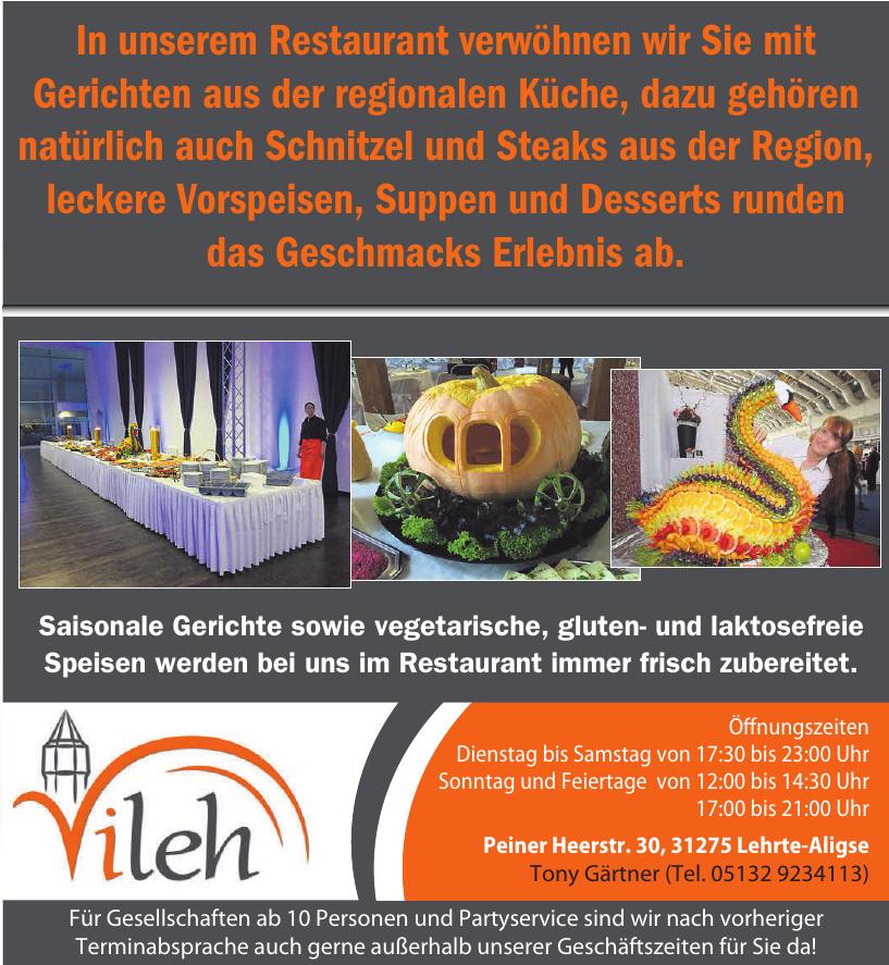 Restaurant Vileh