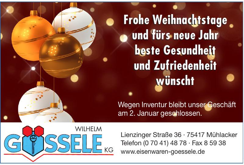 Gössele Wilhelm KG