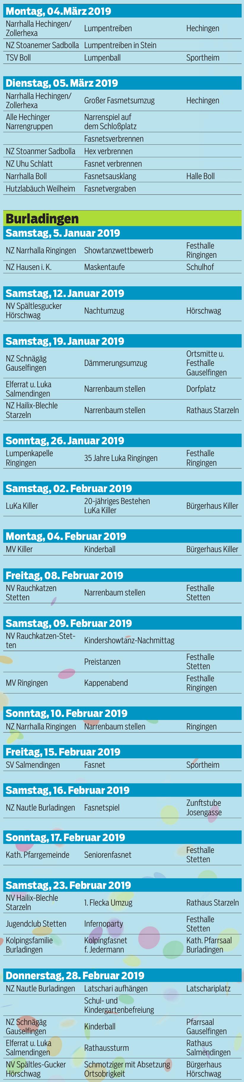 Fasnetskalender 2019 Image 2