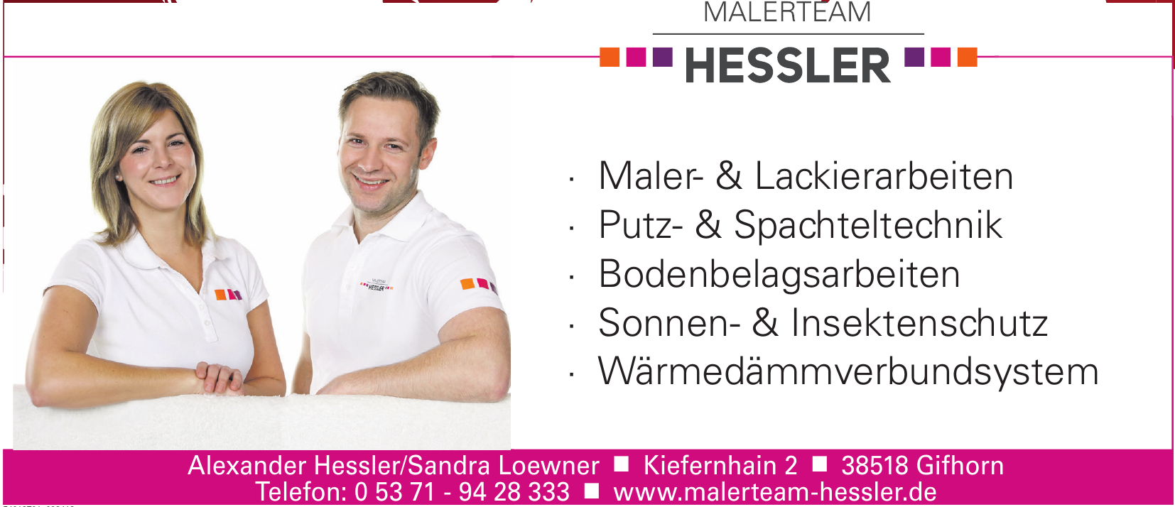 Malerteam Hessler