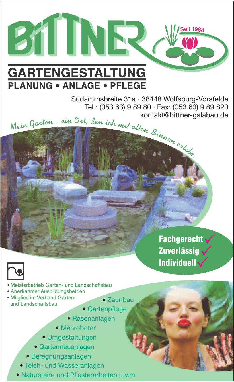 Bittner Gartengestaltung