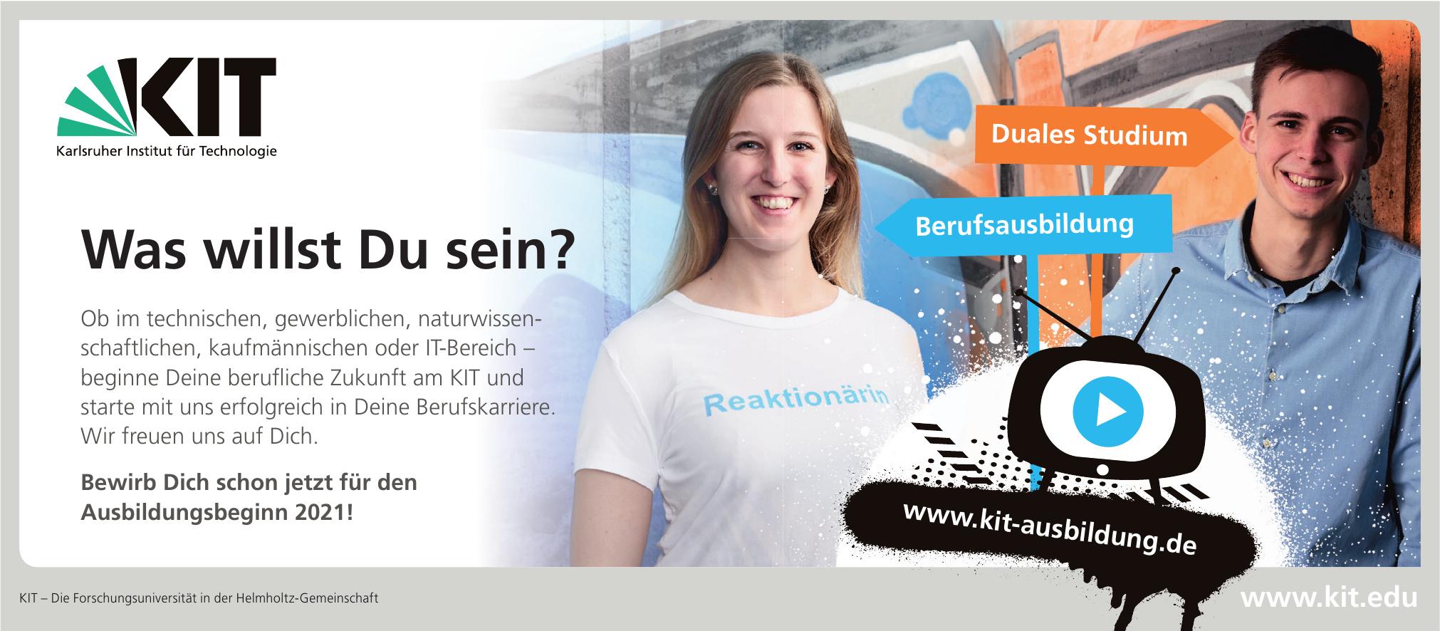 KIT – Die Forschungsuniversität in der Helmholtz-Gemeinschaft