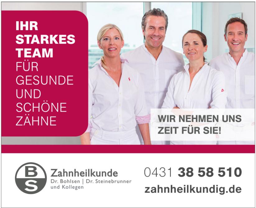 Zahnheilkunde Dr. Bohlsen, Dr. Steinebrunner und Kollegen
