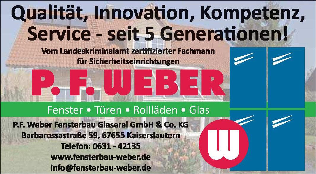 P. F. Weber Fensterbau