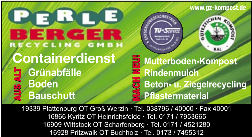 Perle Berger Recycling GmbH
