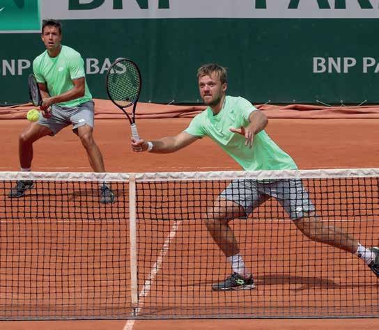 Die Hamburger können sich auf Kevin Krawietz und Andy Mies, frischgebackene French Open Sieger im Doppel, freuen. Foto: Jürgen Hasenkopf