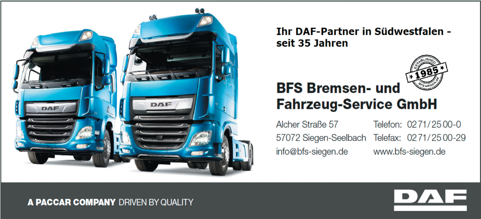 BFS Bremsen- und Fahrzeug-Service GmbH