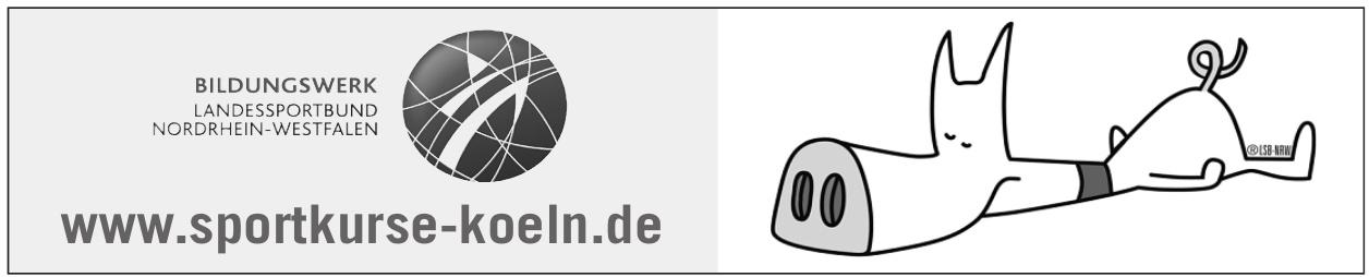 Sportkurse Köln