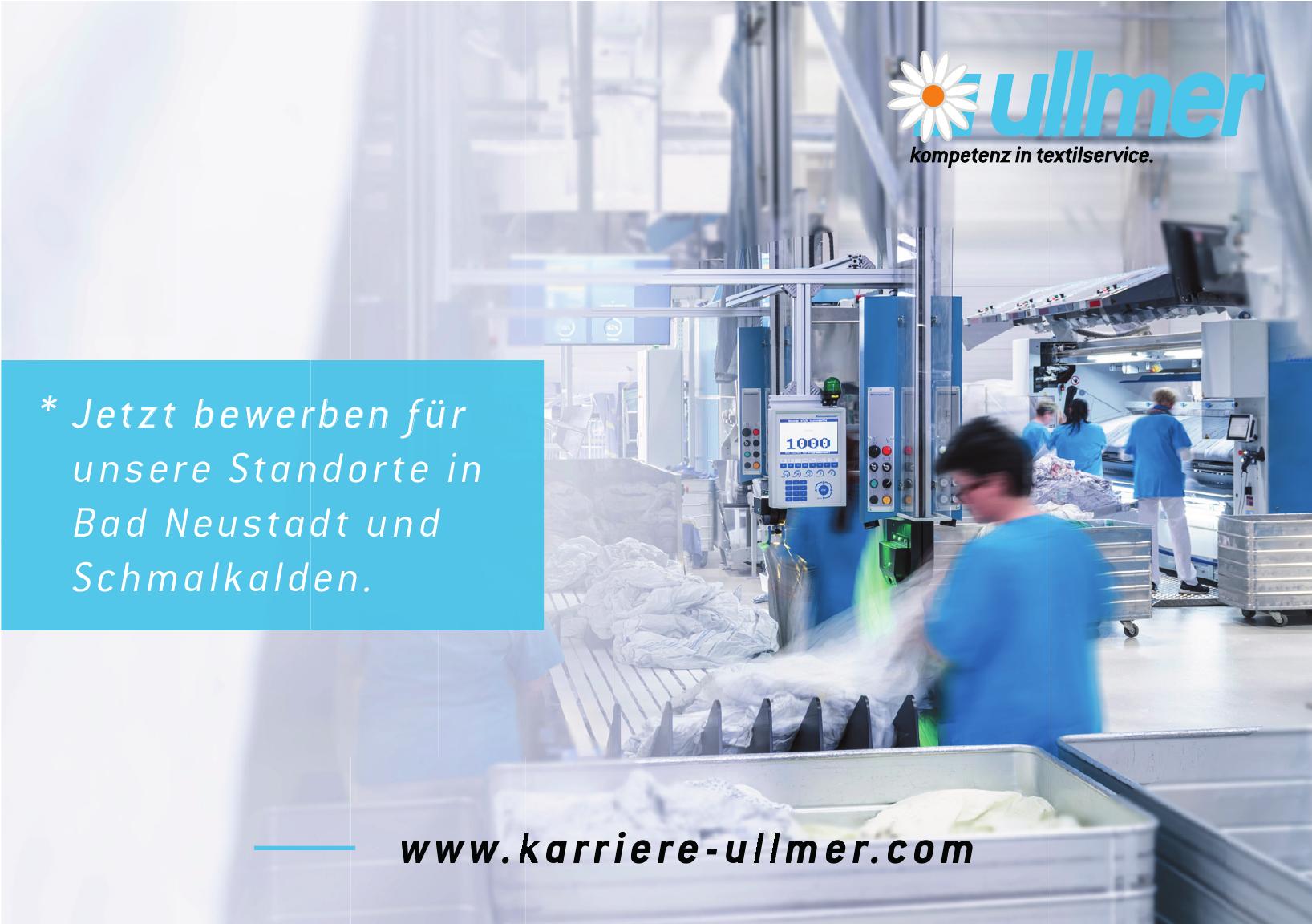 Ullmer Kompetenz in Textilservice