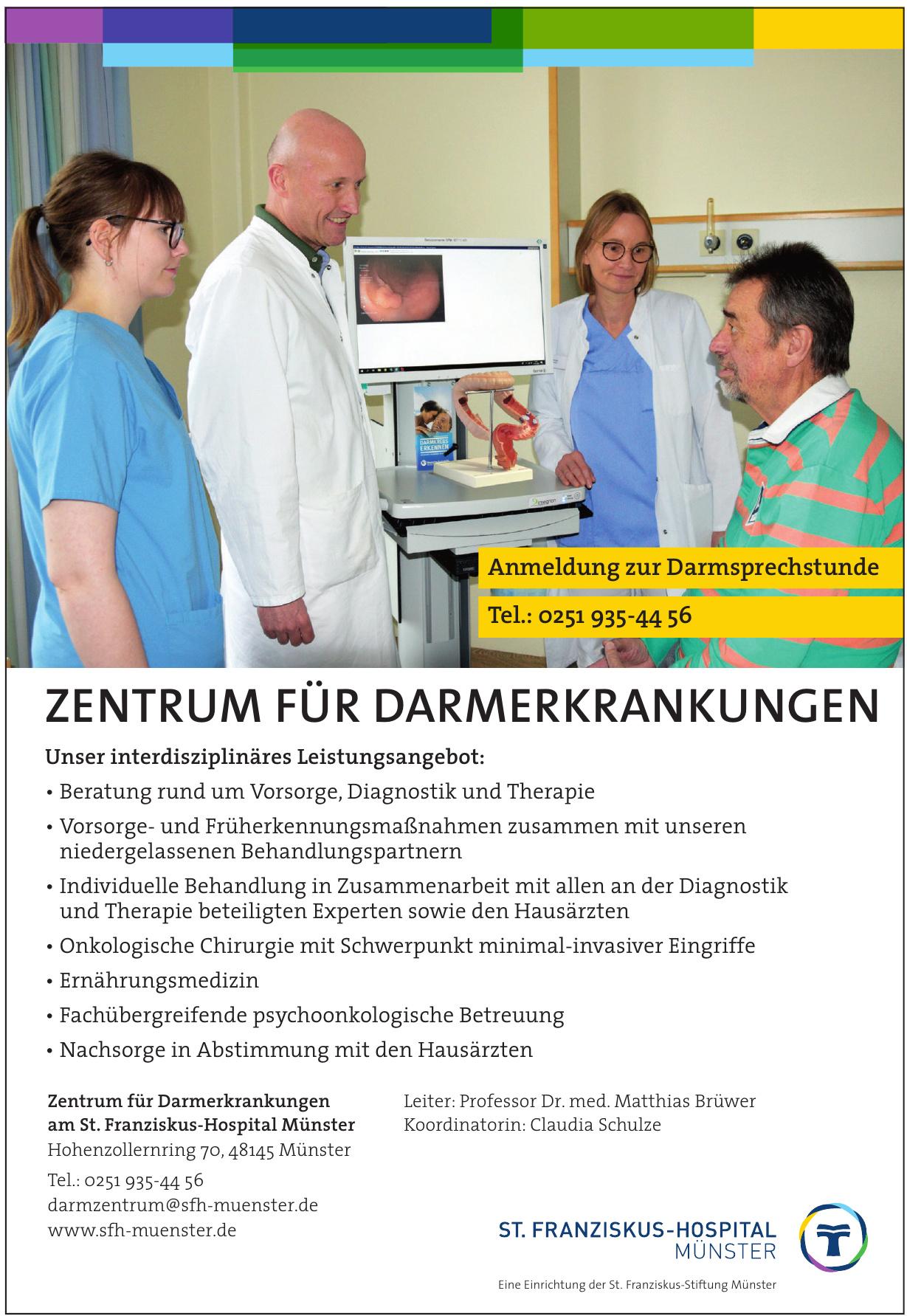 Zentrum für Darmerkrankungen am St. Franziskus-Hospital Münster