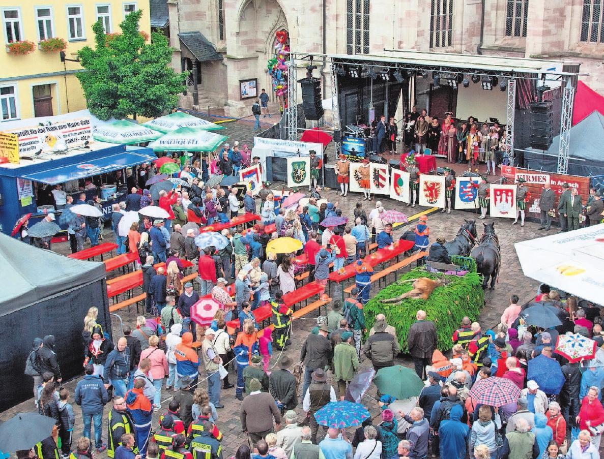 Das traditionelle Stadtfest zieht jedes Jahr zahlreiche Besucher nach Schmalkalden. Fotos: Stadtverw.