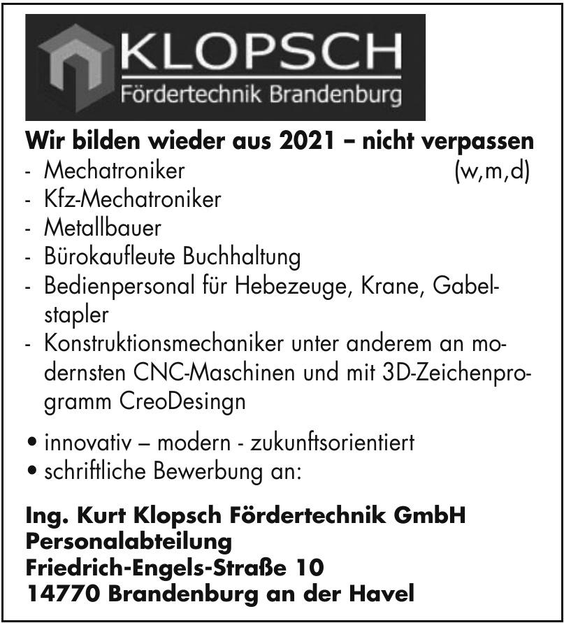 Kurt Klopsch Fördertechnik GmbH