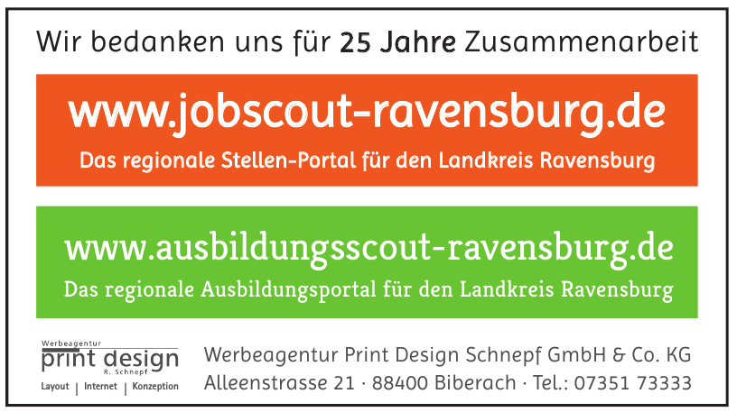 Werbeagentur Print Design Schnepf GmbH & Co. KG