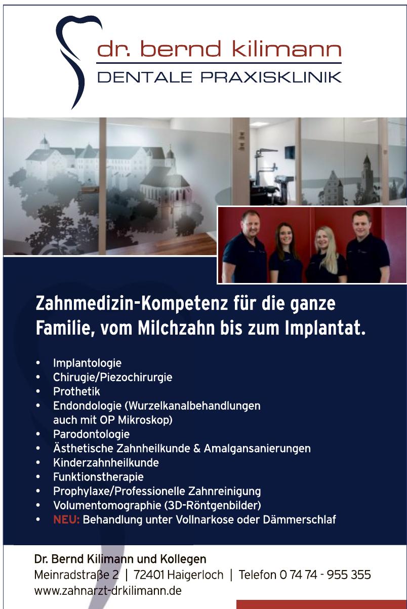 Dr. Bernd Kilimann und Kollegen