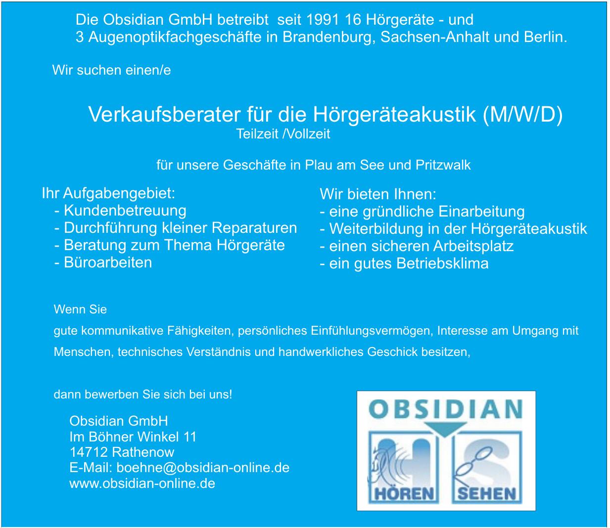 Obsidian GmbH