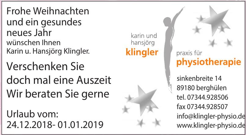 Karin und Hansjörg Klingler Praxis für Physiotherapie