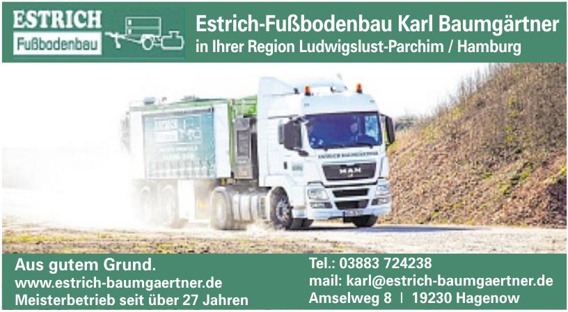 Estrich-Fußbodenbau Karl Baumgärtner
