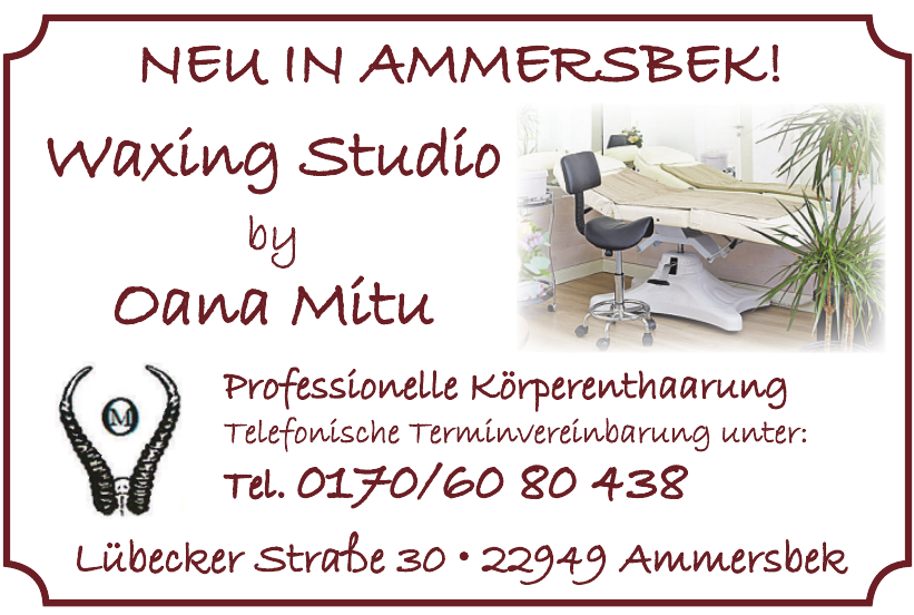 Waxing Studio by Oana Mitu