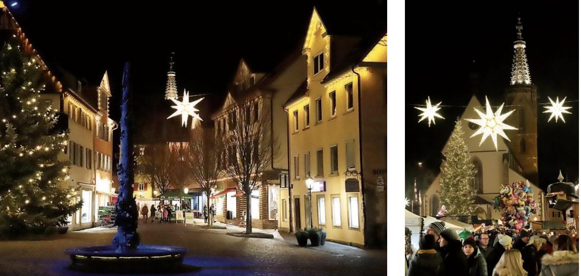 Der Rottenburger Winterzauber besteht aus dem traditionellen Nikolausmarkt vom7. bis 9. Dezember und der neuen Waldweihnacht vor der Zehntscheuer vom 13. bis 16. Dezember und vom 20. bis 23. Dezember. Bilder: Karl-Heinz Kuball