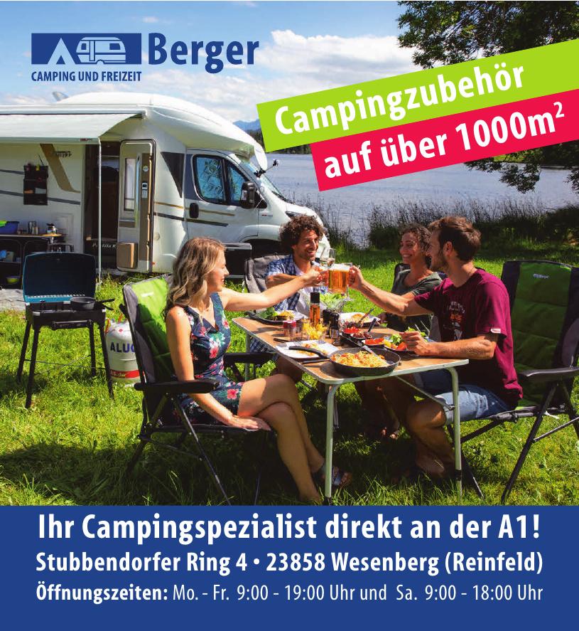 Berger Campitng und Freizeit