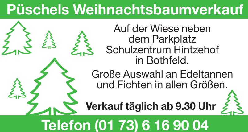 Püschels Weihnachtsbaumverkauf