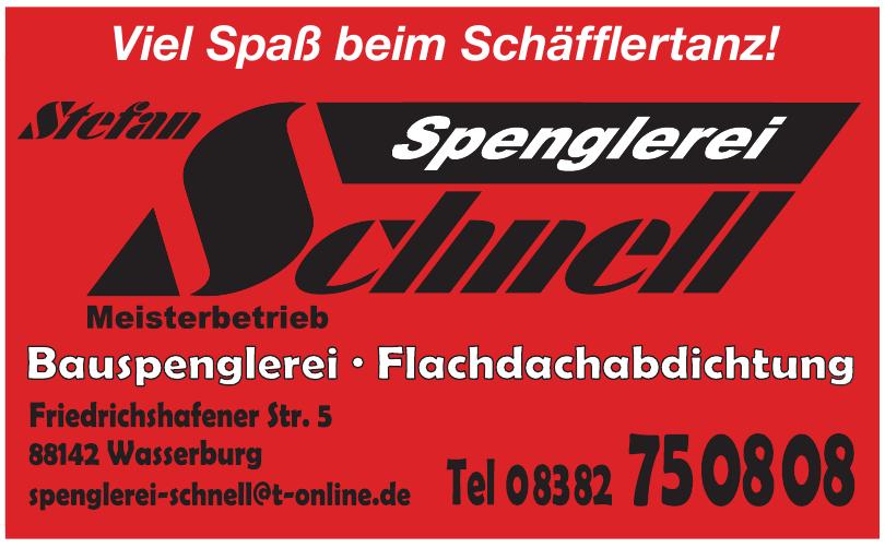 Stefan Spenglerei Schnell