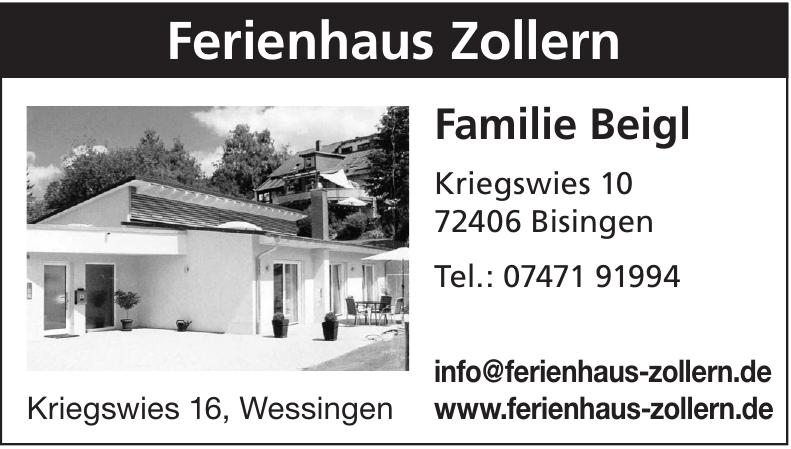Ferienhaus Zollern