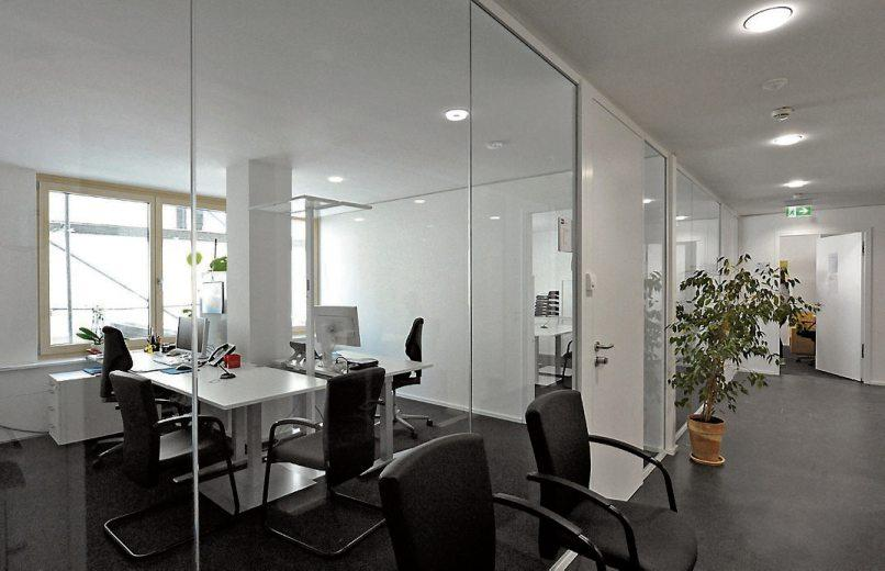 Die neuen Büros sind hell und lichtdurchflutet. Bild: Steffen Schlüter/Stadtverwaltung Rottenburg