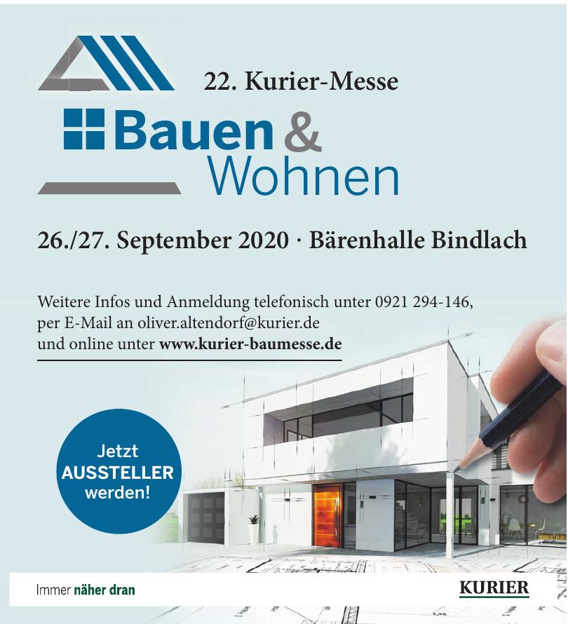 21. Kurier-Messe Bauen & Wohnen