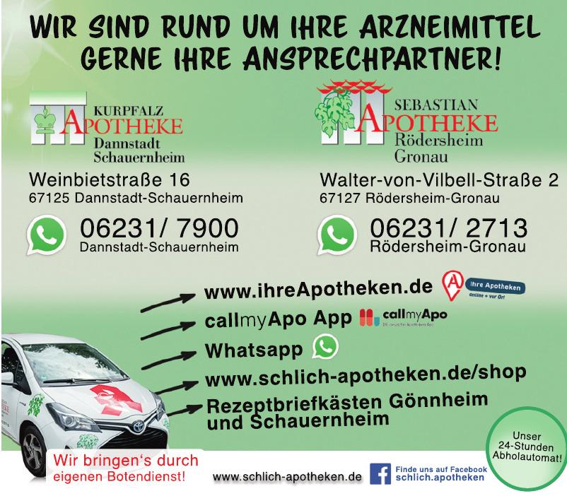 Kurpfalz Apotheke Dannstadt Schauernheim