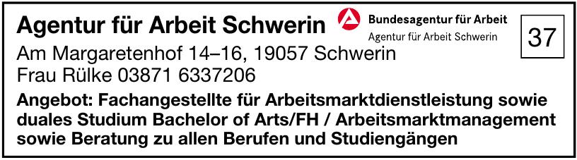 Agentur für Arbeit Schwerin