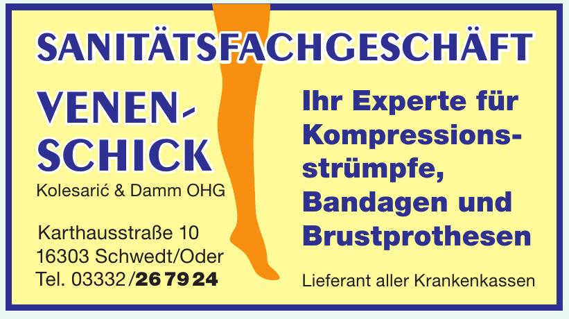 Sanitätsfachgeschäft Venenschick Kolesaric & Damm OHG