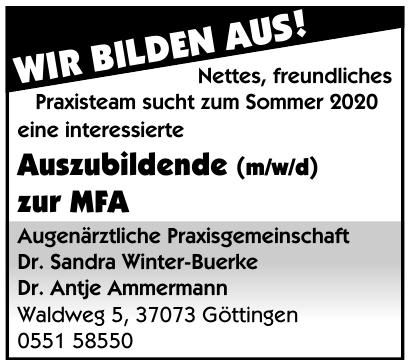 Augenärztliche Praxisgemeinschaft Dr. Sandra Winter-Buerke, Dr. Antje Ammermann