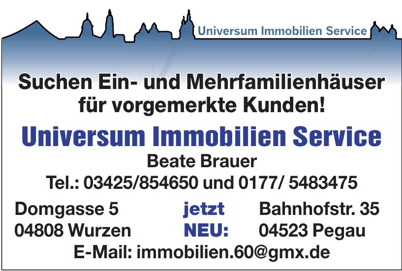 Universum Immobilien Service Beate Brauer