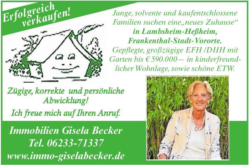 Immobilien Gisela Becker