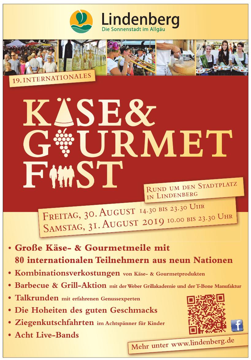 19. Internationales Käse- & Gourmetfest
