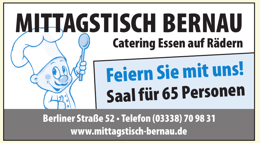 Mittagstisch Bernau