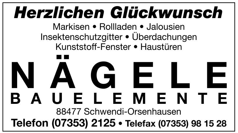 Nägele Bauelemente GmbH & Co. KG
