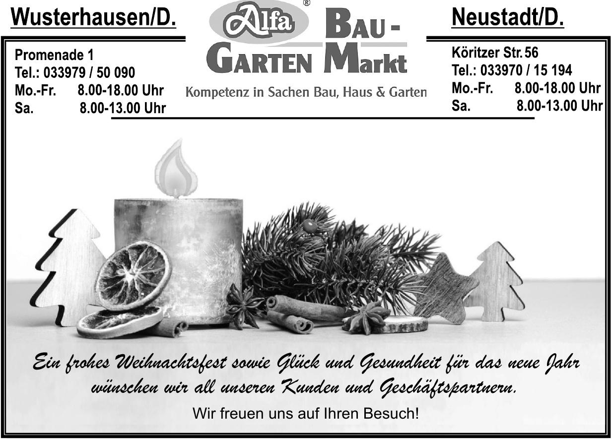 Alfa Bau-Garten-Markt