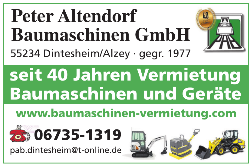 Peter Altendorf Baumaschinen GmbH