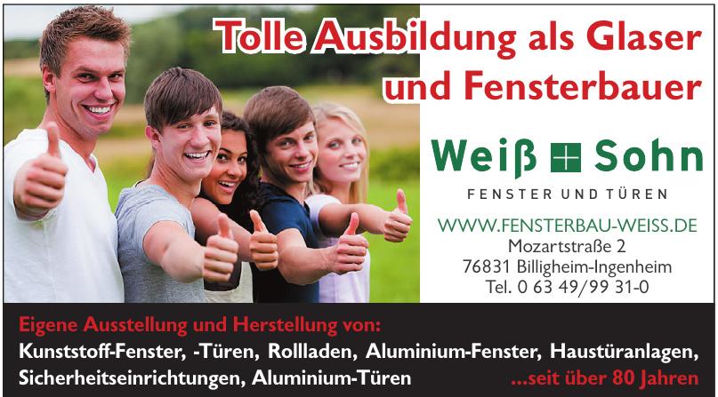 Weiß & Sohn Fensterbau GmbH