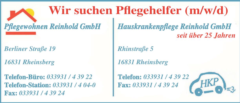 Pflegewohnen Reinhold GmbH