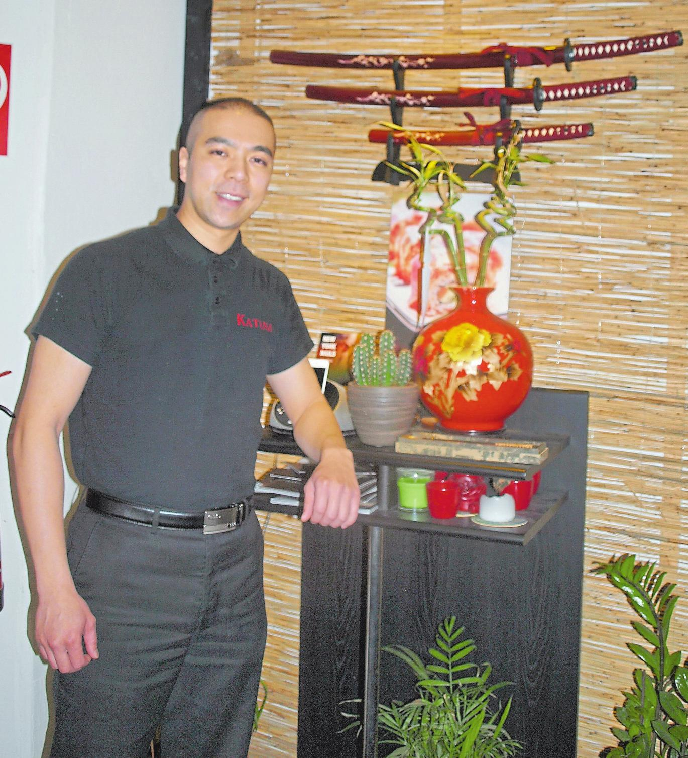 Le Bao Khanh ist mit seinem Restaurant Katana seit 4 ½ Jahren in Ahlen.